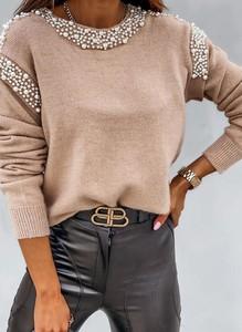 Sweter Sandbella w stylu casual