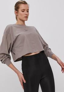 Bluzka Reebok Classic z okrągłym dekoltem z bawełny