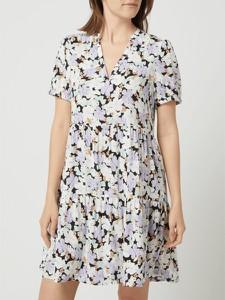 Sukienka Only z dekoltem w kształcie litery v z krótkim rękawem