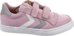 Buty sportowe dziecięce Hummel na rzepy ze skóry