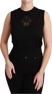 Czarny top Dolce & Gabbana