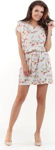Sukienka Awama rozkloszowana mini