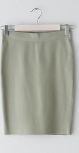 Zielona spódnica Sinsay mini w stylu casual