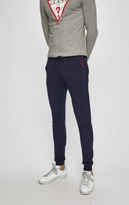 Granatowe spodnie Guess Jeans