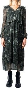 Sukienka Only z długim rękawem midi