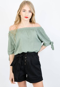 Zielona bluzka Olika w stylu casual