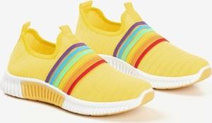 Żółte buty sportowe Royalfashion.pl