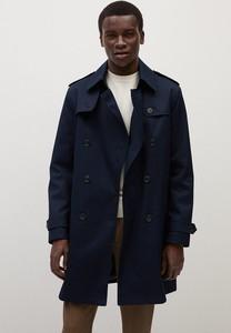 Płaszcz męski Mango Man w stylu casual z bawełny