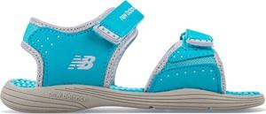 Buty dziecięce letnie New Balance na rzepy
