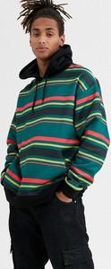 Zielona bluza Asos w młodzieżowym stylu
