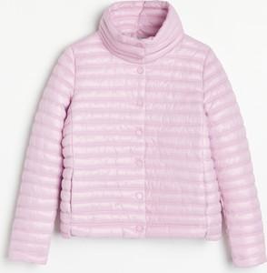 Różowa kurtka Reserved krótka
