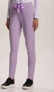 Spodnie sportowe Renee z dresówki