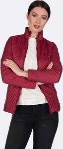 Czerwona kurtka Felix Hardy krótka w stylu casual