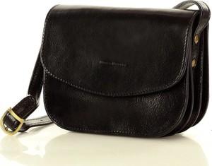 Czarna torebka MAZZINI na ramię