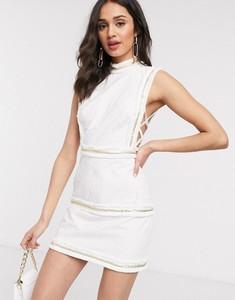 Sukienka Asos mini bez rękawów w stylu boho