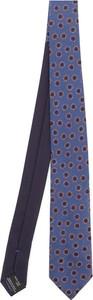 Niebieski krawat Missoni