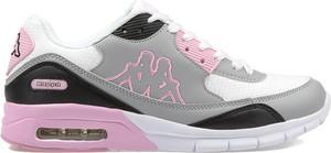 Buty sportowe Kappa ze skóry z płaską podeszwą