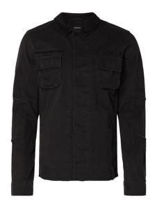 Czarna kurtka Tigha w stylu casual