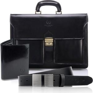 Czarny portfel męski Paolo Peruzzi