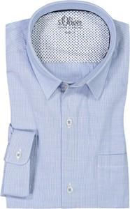 Koszula S.Oliver w stylu casual z bawełny z długim rękawem