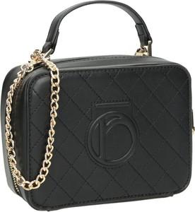 Czarna torebka NOBO pikowana średnia