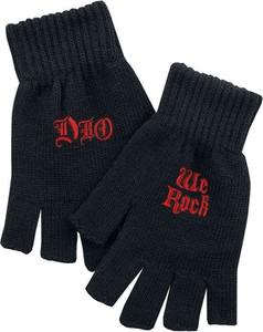 Czarne rękawiczki Emp