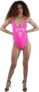 Różowy strój kąpielowy Guess