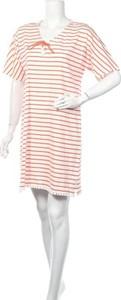 Sukienka Canat w stylu casual mini z okrągłym dekoltem