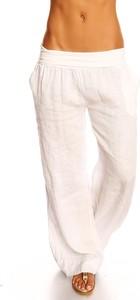 Spodnie 100% Linen w stylu casual