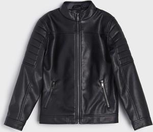 Czarna kurtka dziecięca Sinsay dla chłopców