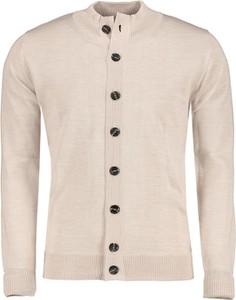 Sweter Lavard z tkaniny w stylu casual