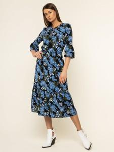 Sukienka Michael Kors prosta z długim rękawem w stylu casual