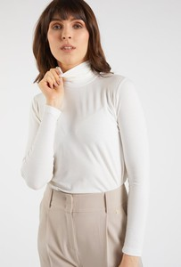 Bluzka Monnari z długim rękawem z golfem