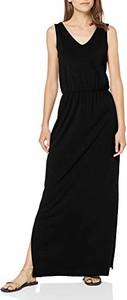Sukienka amazon.de na ramiączkach z dekoltem w kształcie litery v prosta