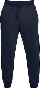 Niebieskie spodnie sportowe Under Armour z dresówki