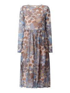 Sukienka Esprit z długim rękawem midi