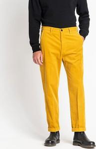 Żółte spodnie Lee Jeans w stylu casual
