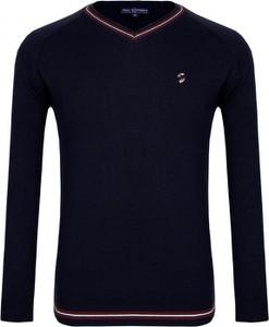 Niebieski sweter Paul Parker