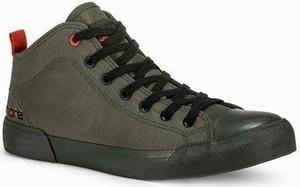 Ombre Trampki męskie sneakersy T356 - khaki