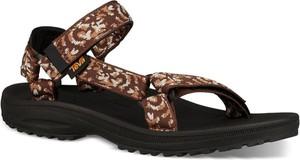 Brązowe buty letnie męskie Teva