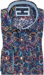 Koszula Colours & Sons z bawełny z klasycznym kołnierzykiem