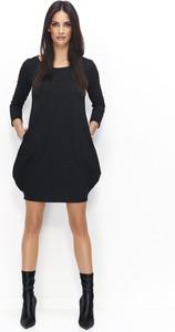 Sukienka Numinou mini z długim rękawem