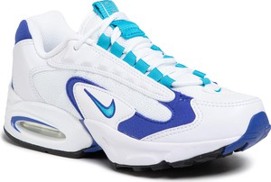 Buty sportowe Nike ze skóry ekologicznej z płaską podeszwą sznurowane