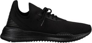 Czarne buty sportowe Puma w sportowym stylu