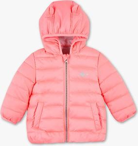 Różowa kurtka dziecięca Baby Club z bawełny