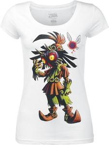 T-shirt Emp z bawełny z okrągłym dekoltem z nadrukiem