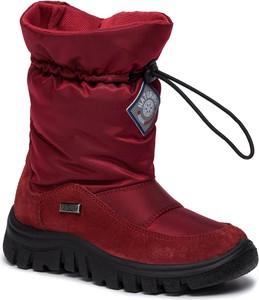 Buty dziecięce zimowe Naturino sznurowane