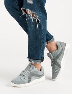 Szare buty sportowe sznurowane Czasnabuty, kolekcja wiosna 2019
