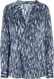Niebieska bluzka Dea Kudibal z długim rękawem
