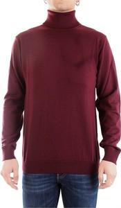 Czerwony sweter Daniele Fiesoli z wełny